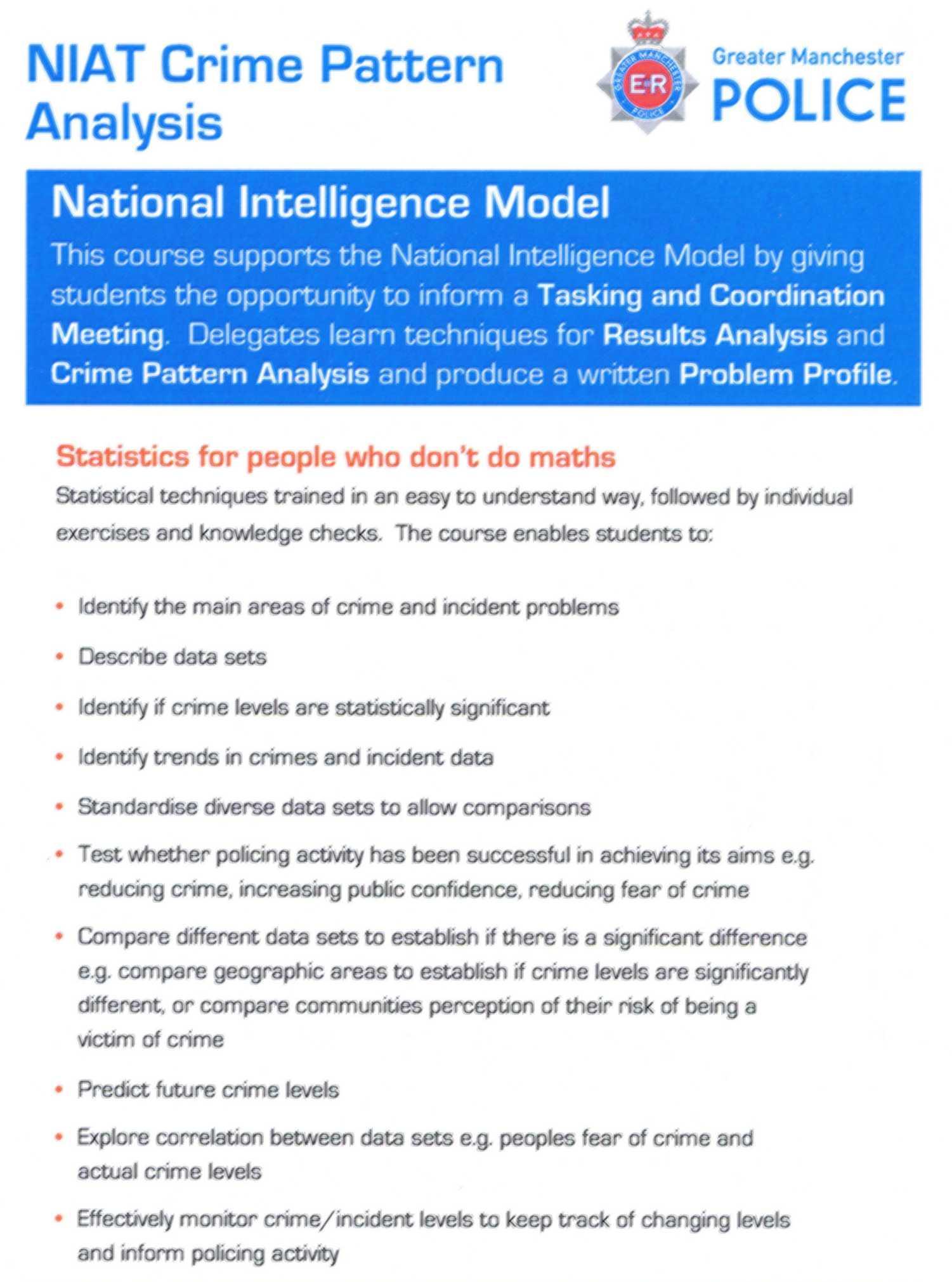 critical thinking through writing intelligence and crime analysis